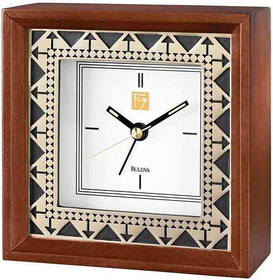 Настольные часы Bulova B7766 туфли frank wright frank wright fr621amlee37