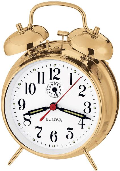 цена Настольные часы Bulova B8124 онлайн в 2017 году