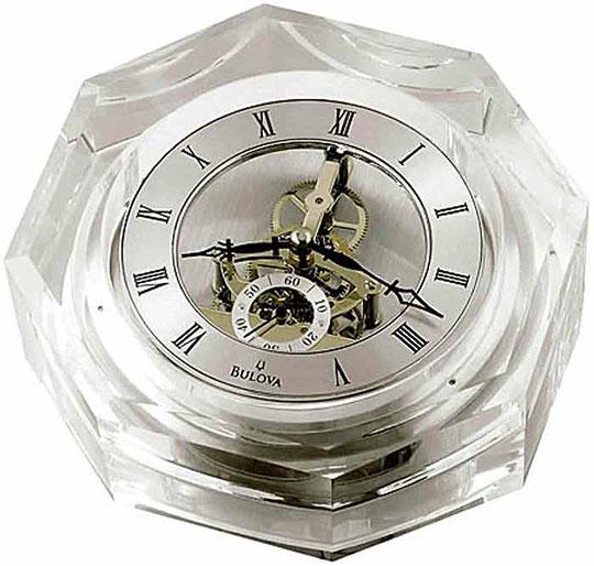 Настольные часы Bulova B9851 bulova часы bulova 96w203 коллекция diamonds