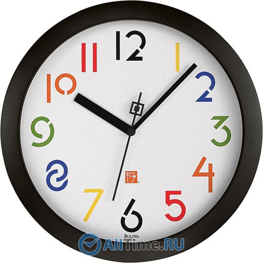 Настенные часы Bulova C3332 туфли frank wright frank wright fr621amlee37
