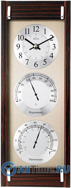 Настенные часы Bulova C3733 bulova 98a157