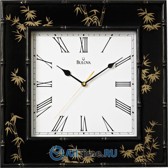 Настенные часы Bulova C4102 bulova 98a157