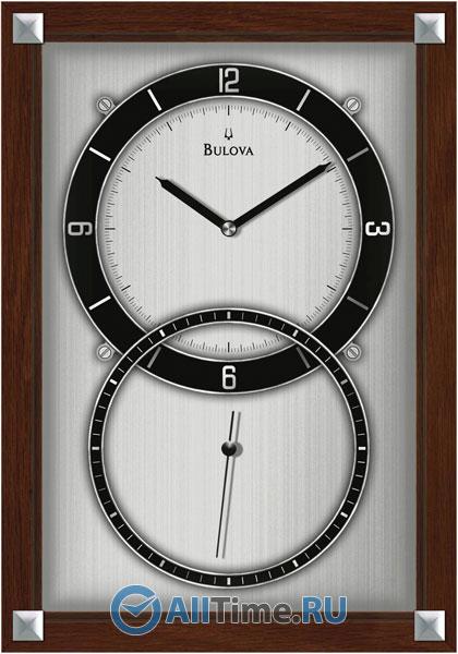 Настенные часы Bulova C4333 bulova 98a157