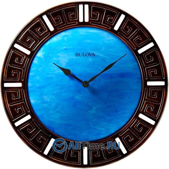 Настенные часы Bulova C4371 bulova 98a157