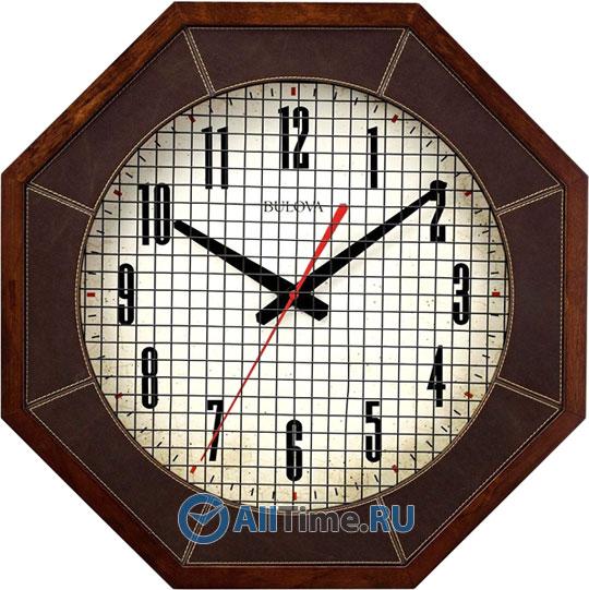 Настенные часы Bulova C4376 bulova 98a157