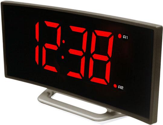 Электронные часы с картинкой