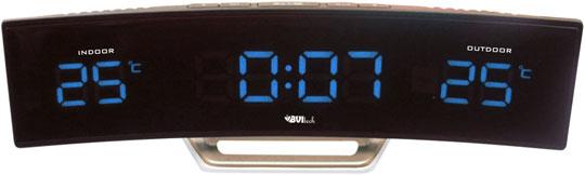 где купить  Настольные часы BVItech BV-415BKS  дешево
