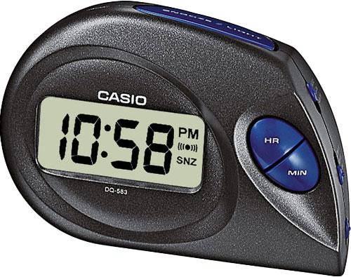 Настольные часы Casio DQ-583-1E casio prw 3500y 1e
