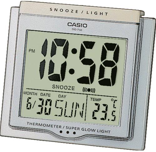 Настольные часы Casio DQ-750-8E настольные часы casio dq 543 3d