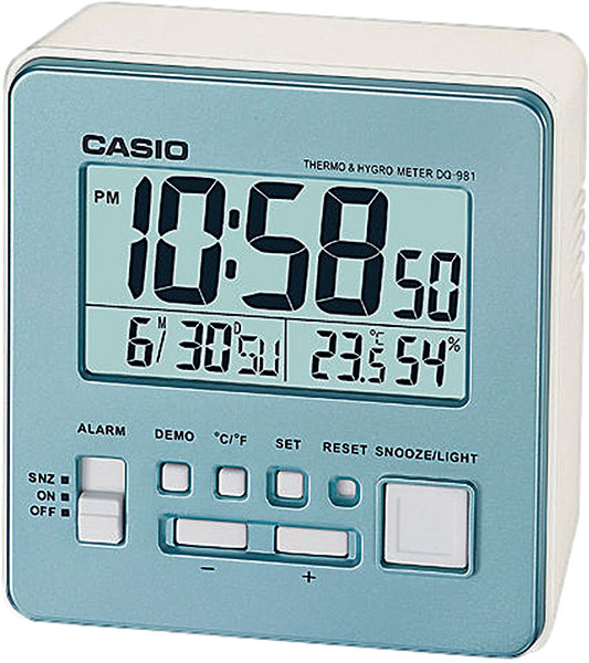 Настольные часы Casio DQ-981-2E casio casio dq 981 2e