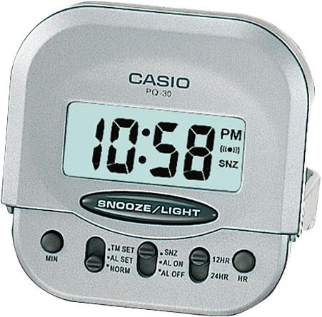Настольные часы Casio PQ-30-8E casio pq 31 1d