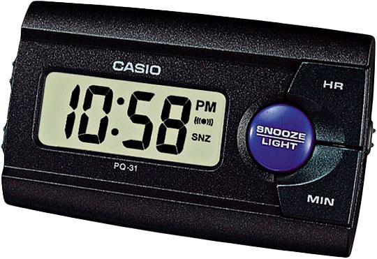 Настольные часы Casio PQ-31-1D casio pq 31 1d