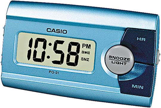 Настольные часы Casio PQ-31-2E мужские часы casio dw 6900zb 2e