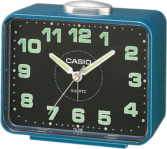Настольные часы Casio TQ-218-2E мужские часы casio dw 6900zb 2e