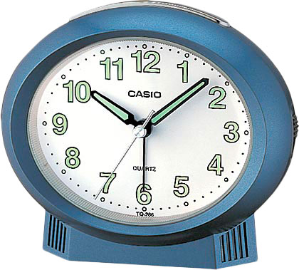 Настольные часы Casio TQ-266-2E мужские часы casio dw 6900zb 2e