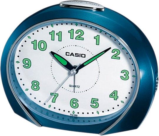 Настольные часы Casio TQ-269-2E мужские часы casio dw 6900zb 2e