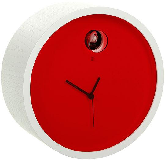 Настенные часы Diamantini&Domeniconi Dia-211_white-red