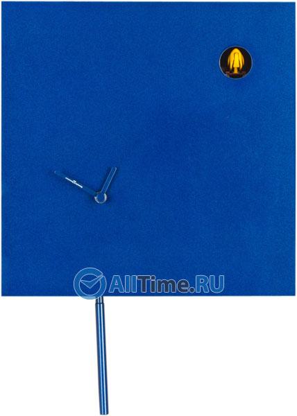 diamantini&domeniconi стеклянные настенные интерьерные часы 51 red Настенные часы Diamantini&Domeniconi Dia-225LBU