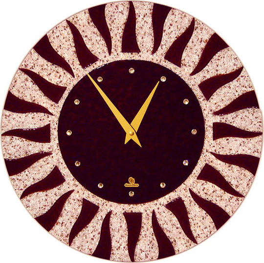 Настенные часы Glass Deco DGC-R-L6 glass deco r g6