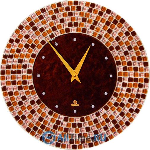 Настенные часы Glass Deco DGC-R-M2