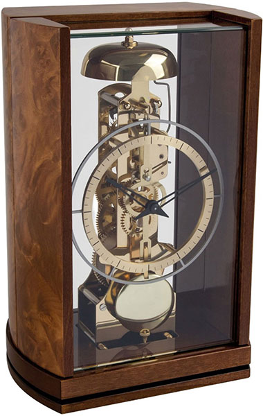 Настольные часы Hermle 23050-R30791 часы пушка настольные 9 30 11см 1140005
