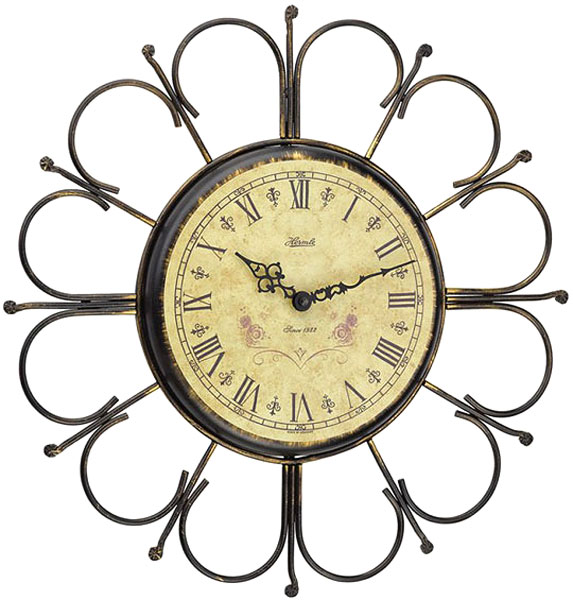 Настенные часы Hermle 30896-002100 настольные часы hermle 22641 002100