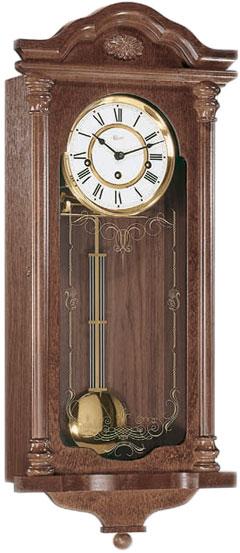 hermle деревянные настенные механические часы с маятником 70509 070341 Настенные часы Hermle 70509-030341