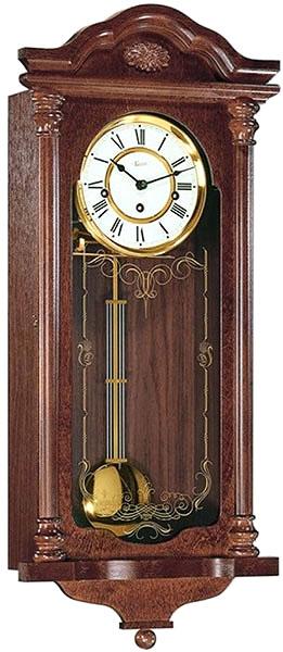 hermle деревянные настенные механические часы с маятником 70509 070341 Настенные часы Hermle 70509-070341