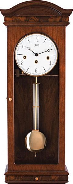 hermle деревянные настенные механические часы с маятником 70509 070341 Настенные часы Hermle 70930-070341