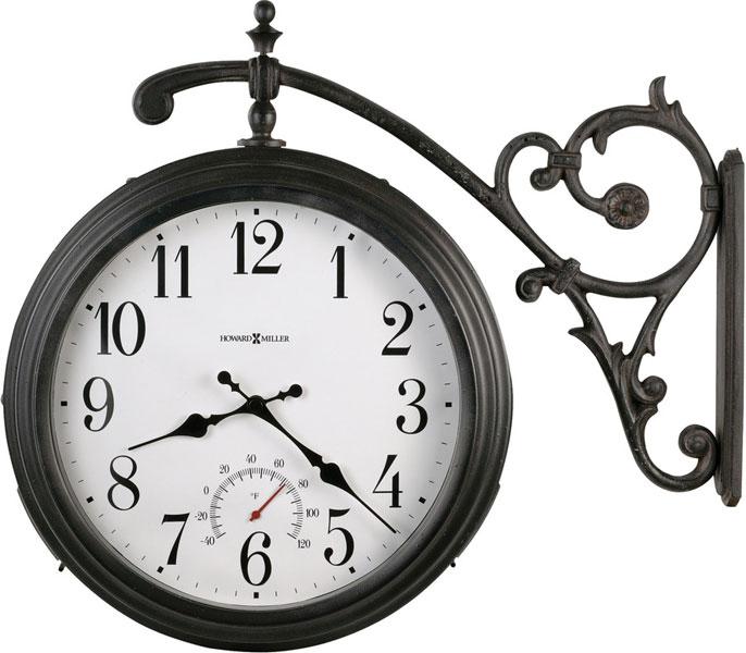 Артикул: 625-358 Luis.  Уличные настенные часы с двусторонним...