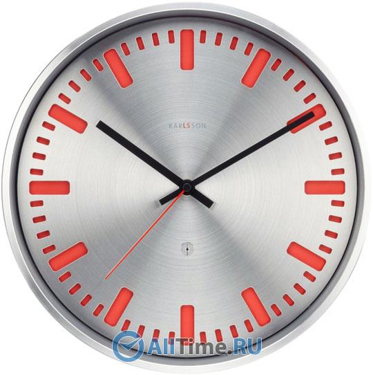 Настенные часы Karlsson KW0018RD