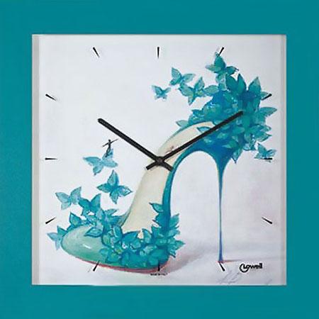 Фото «Деревянные настенные часы Lowell Low05465»