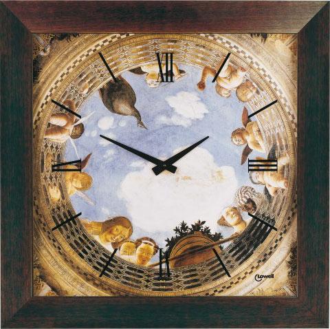 Настенные часы Lowell Low11273W-B