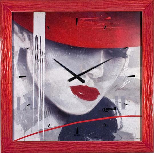 Настенные часы Lowell Low11740