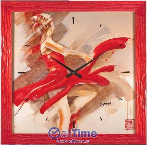 Настенные часы Lowell Low11741