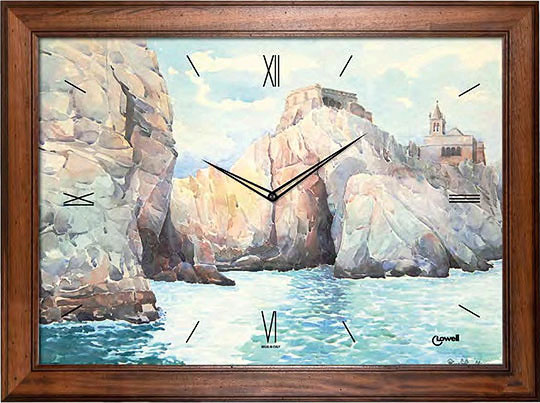 Настенные часы Lowell Low12102-ucenka