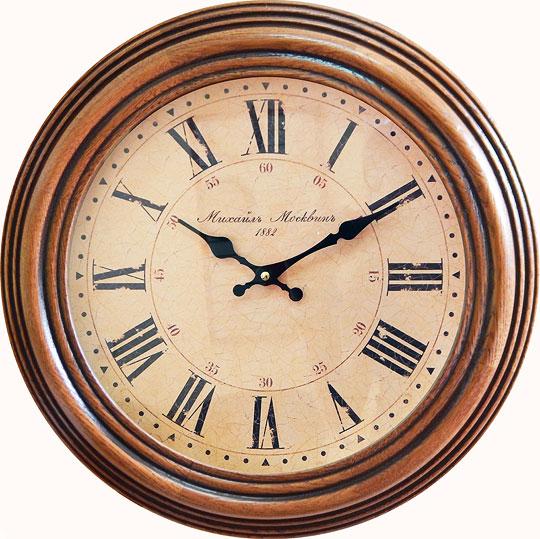 Настенные часы Михаил Москвин 2166P-1 настенные часы михаил москвин biljard 8038a