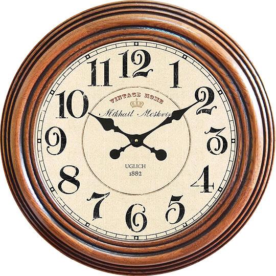 Настенные часы Михаил Москвин 2166P-2 настенные часы михаил москвин st 2 2