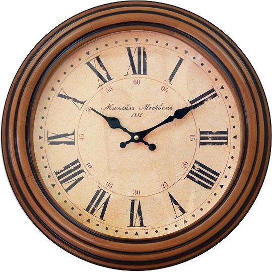 настенные часы михаил москвин serdce 6 3 Настенные часы Михаил Москвин 2186-P-1