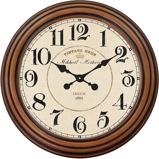 Настенные часы Михаил Москвин 2186-P-2 настенные часы михаил москвин majatnik skripka 15018614
