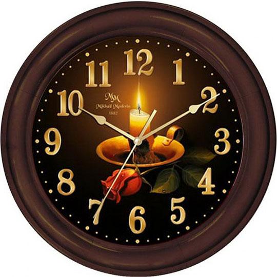 Настенные часы Михаил Москвин 70186NB16 настенные часы михаил москвин 80286t5