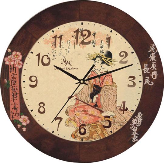 Настенные часы Михаил Москвин 71186R4 настенные часы михаил москвин st8 4