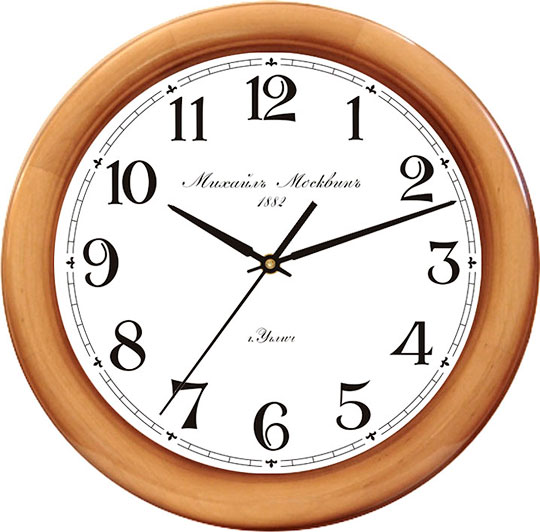 Настенные часы Михаил Москвин 8028A6 настенные часы михаил москвин majatnik skripka 15018614