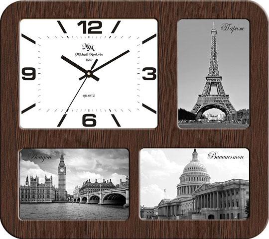 Настенные часы Михаил Москвин F-3.36 настенные часы михаил москвин 80286t5