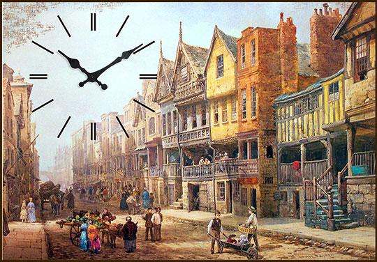 Настенные часы Михаил Москвин KARTINA-ANGLIJA настенные часы михаил москвин kartina maki