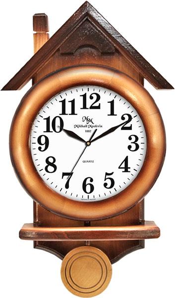 Настенные часы Михаил Москвин MAJATNIK-KOTTEDZH-13018A31 настенные часы михаил москвин majatnik skripka 15018614