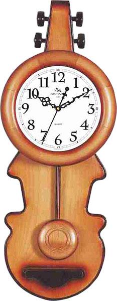 Настенные часы Михаил Москвин MAJATNIK-SKRIPKA-15018A31 пользовательские обои mural 3d wall mural природные пейзажи водопады и зеленое дерево обои для рабочего стола нетканые настенные пок