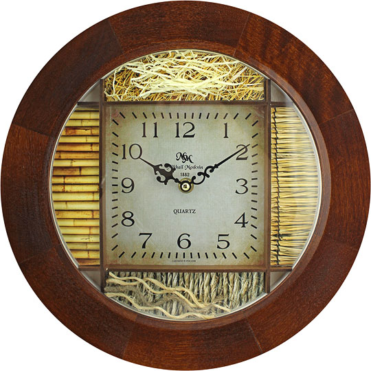 настенные часы михаил москвин serdce 6 3 Настенные часы Михаил Москвин NASYPNYE-508862
