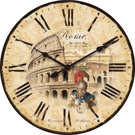 Настенные часы Михаил Москвин d320-RIM-M