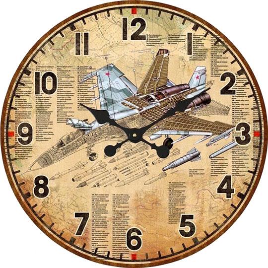 Настенные часы Михаил Москвин d320-SU-30-M